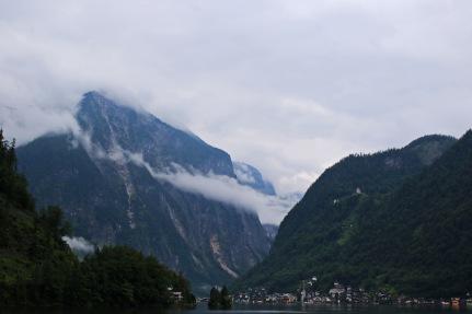 Views across to Hallstatt