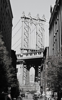 Manhattan Bridge from Washington St.