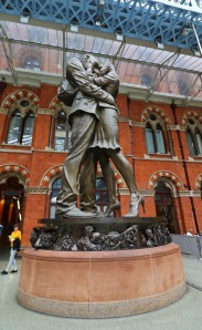 The Meeting Place statue