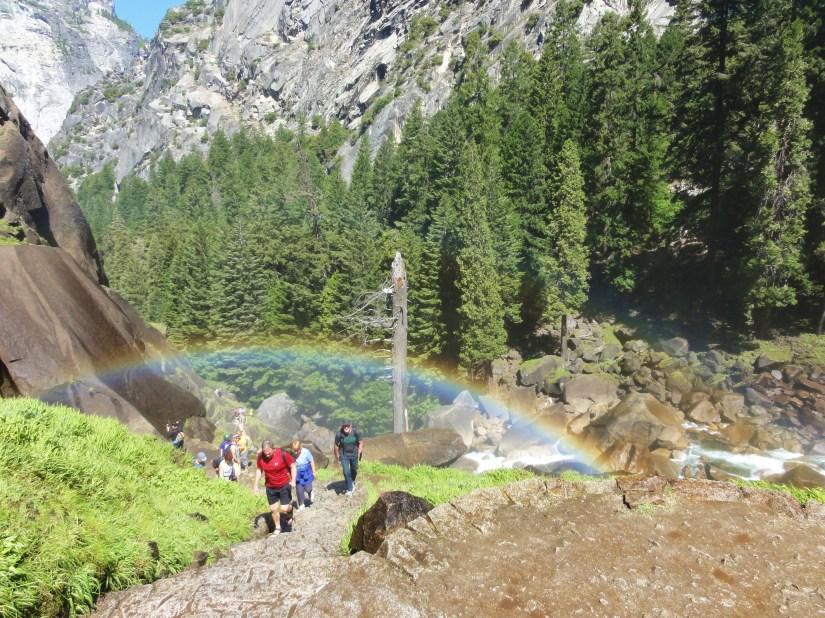 Vernall Falls Rainbow