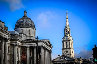 The National Gallery & St. Martin-in-the-Fields