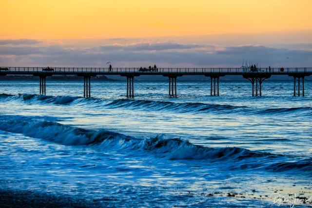 Saltburn-by-the-Sea Pier Sunset