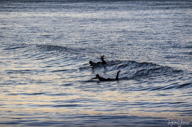 Surfers Saltburn-by-the-Sea